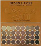 Makeup Revolution Flawless Matte - Ultra Eyeshadows - Oogschaduw Palette - 32 Kleuren