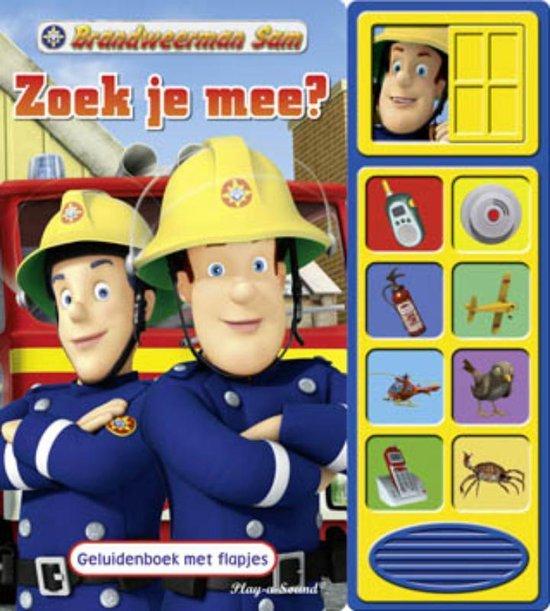 Boek cover Brandweerman Sam  -   Zoek je mee? van Eric Furman (Hardcover)