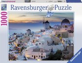 Ravensburger puzzel Avond in Santorini - Legpuzzel - 1000 stukjes