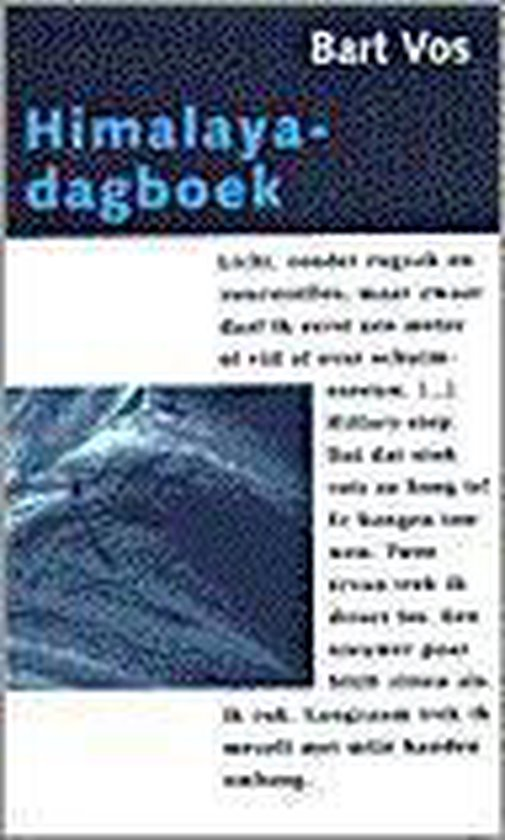 Himalaya dagboek (kleine pbk) - B. Vos |
