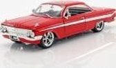 Dom's Chevrolet Impala Fast and Furious 8 2017 rood 1:24 Jada Toys