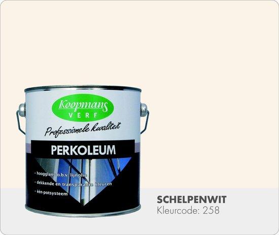 Koopmans Perkoleum - Dekkend - 2,5 liter - Schelpenwit - Koopmans