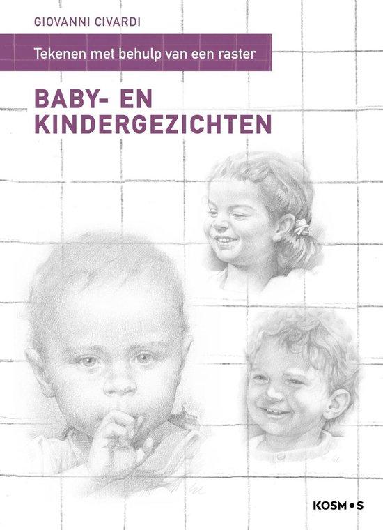 Tekenen met behulp van een raster - Baby- en kindergezichten. - Giovanni Civardi  