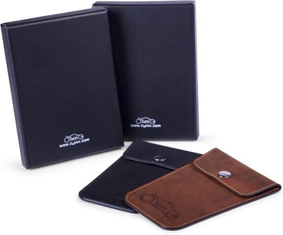 Zybbit Multipack zwart ,  Anti diefstal / anti skim / anti diefstal autosleutel etui