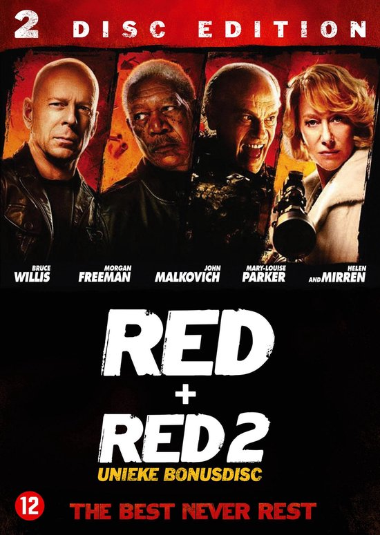 Cover van de film 'Red/Red2 Preview'