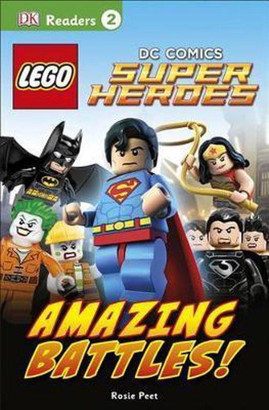 DK Readers L2: LEGO (R) DC Comics Super Heroes: Amazing Battles!