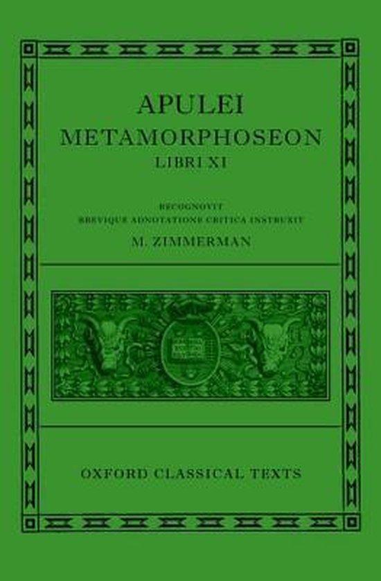 Apulei Metamorphoseon Libri XI