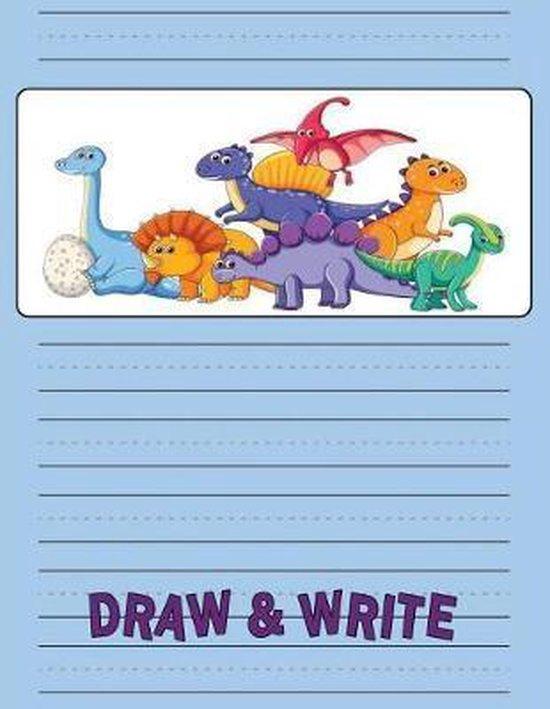 Story Writing Paper for Kindergarten