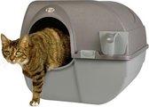 Omega Paw Zelfreinigende Kattenbak L - Bruin - 50 x 56 x 50 cm