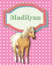 Handwriting and Illustration Story Paper 120 Pages Madilynn