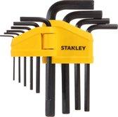 STANLEY Inbussleutelset 10-delig - 1.5 t/m 10 mm
