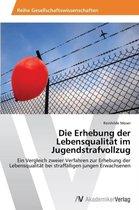 Die Erhebung der Lebensqualitat im Jugendstrafvollzug