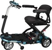 Opvouwbare Brio scootmobiel | S19 met armleuningen | Blauw metallic