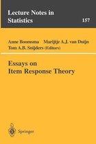 Essays on Item Response Theory