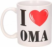 I Love Oma beker / mok 300 ml