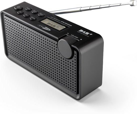 Caliber HPG334DAB/B - Draagbare radio Dab+  en FM  - Zwart