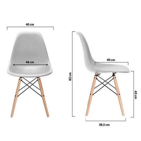 Bol Com Milano Design Stoel Grijs 4 Delige Set Keuken Huiskamer