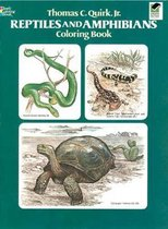 Reptiles and Amphibians Coloring Book