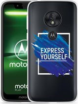 Moto G7 Play Hoesje Express Yourself