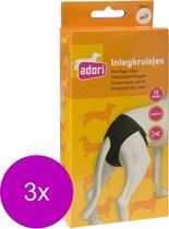 Adori Inlegkruis Hondenbroek Wit - Hondenloopsheid - 3 x Medium/Large