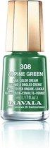 Mavala Nagellak 308 Alpine Green - Groen