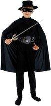 Compleet Zorro kostuum voor kinderen 110-122 (4-6 jaar)
