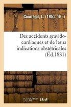 Des accidents gravido-cardiaques et de leurs indications obstetricales