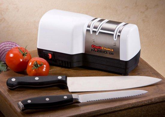 Chef'sChoice USA - Hybrid 220 Messenslijpmachine - 2 Fasen - Chef'sChoice