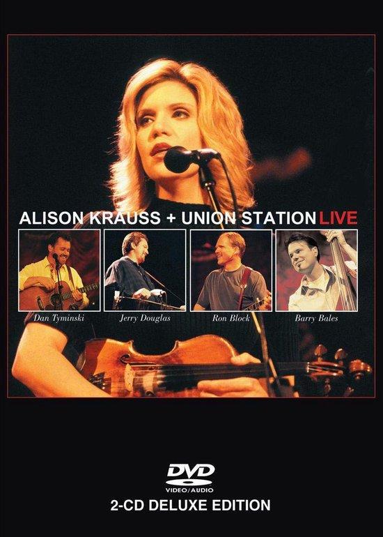 Cover van de film 'Alison Krauss & Union St, Alison Krauss - Live'