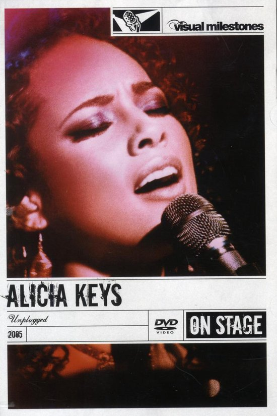 Cover van de film 'Alicia Keys - Unplugged'