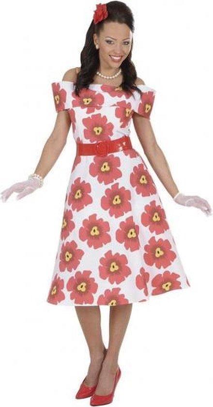 Nieuw bol.com   Jaren 50 bloemetjes jurk 38 (m) VH-29