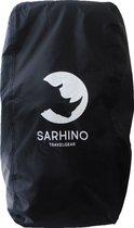 Sarhino Shield flightbag voor backpacks en regenhoes - L 80-100l  - zwart - flightbags