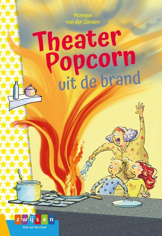 Supermeiden - Theater Popcorn uit de brand - Monique van der Zanden |