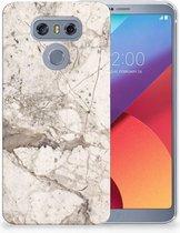 LG G6 TPU Hoesje Design Marmer Beige