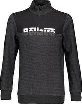 Bellaire Jongens Sweater met rits op de kraag - Antracite - Maat 134/140