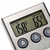 Hendi Digitale Vlees Braad Thermometer met Timer -