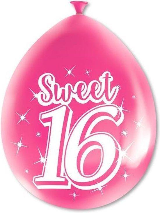 Paperdreams cijferballonnen - Sweet 16