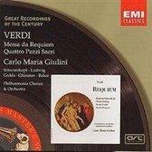 Verdi: Messa da Requiem, Quattro Pezzi Sacri etc / Giulini et al