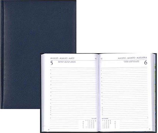 Afbeelding van Agenda 2020 - Diary Select - 6 Talig - 1 dag/1 pagina - Blauw - 14 x 21,5 cm