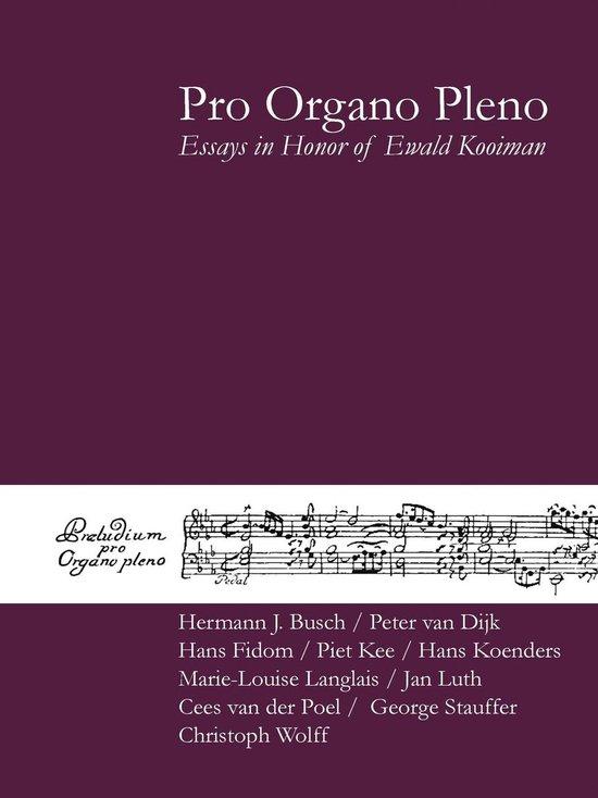 Pro Organo Pleno - none  
