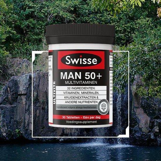 Swisse Multivitaminen Man 50+ - Halfjaarbox 180 Stuks - Voedingssupplementen