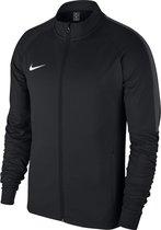 Nike Academy 18 Trainingsjas Heren Sportvest - Maat M  - Mannen - zwart/grijs