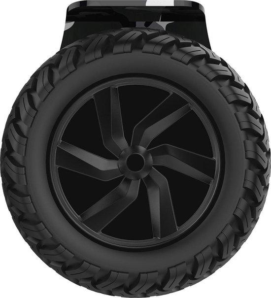 Evercross Challenger Basic 2019 Best 8.5 inch SUV Hoverboard met APP Functie 700W Motion V.12 Bluetooth speakers en met TAOTAO moederbord - Camouflage + Hoverkart Blauw