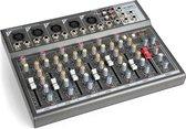 Mengpaneel - Vonyx VMM-F701 - Professionele 7-kanaals mixer met o.a. mp3 speler, echo en delay effecten