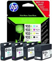 HP 1 x 932XL + 3 x 933XL - C2P42AE - Inktcartridge