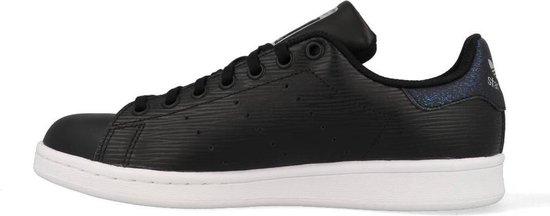 Adidas Stan Smith J Zwart - Kinder Sneaker - CM8191 - Maat 36 2/3