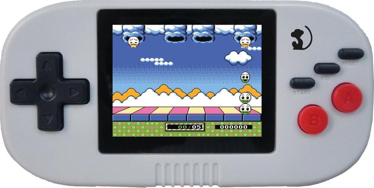 Wonky Toys - Mini Retro Spelcomputer - Handheld Game Computer - Kleurrijk Scherm - 150 Spellen