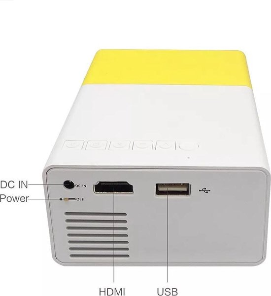 YG-300 LCD  LED Projector - Draagbare / Portable Mini Beamer