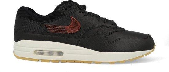 bol.com | Nike Air Max 1 Premium - Sneakers - Zwart/Wit/Gum ...