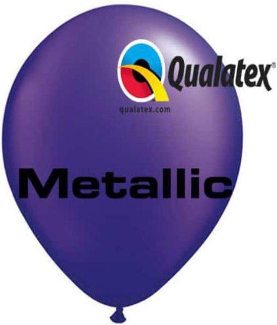 Ballonnen Pearl Quartz purple 45 cm 50 stuks